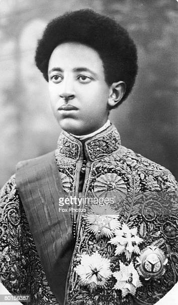 Crown Prince Asfa Wossen of Ethiopia the son of Haile Selassie I 22nd November 1935 He became Emperor Amha Selassie of Ethiopia in exile in 1989