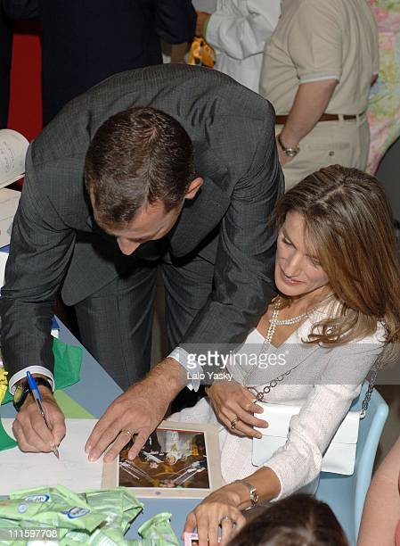 Crown Prince Felipe and Princess Letizia during Opening of the New 'Juan XXIII Foundation' by Crown Prince Felipe and Princess Letizia at Princess...