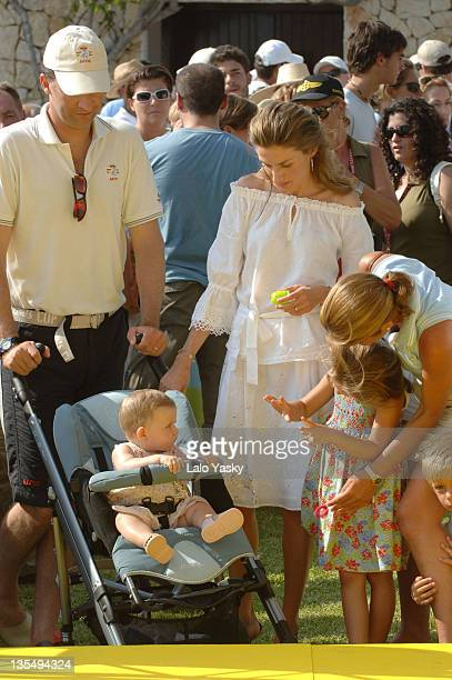 Crown Prince Felipe Princess Letizia and Baby Leonor