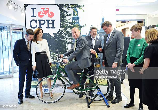 Crown Prince Frederik and Crown Princess Mary of Denmark attend official visit to Canada Day 3 at The Hudson's Bay on September 19 2014 in Toronto...
