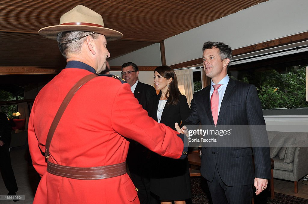 Crown Prince Frederik And Crown Princess Mary Of Denmark Official Visit To Canada - Day 1 on September 17, 2014 in Ottawa, Canada.