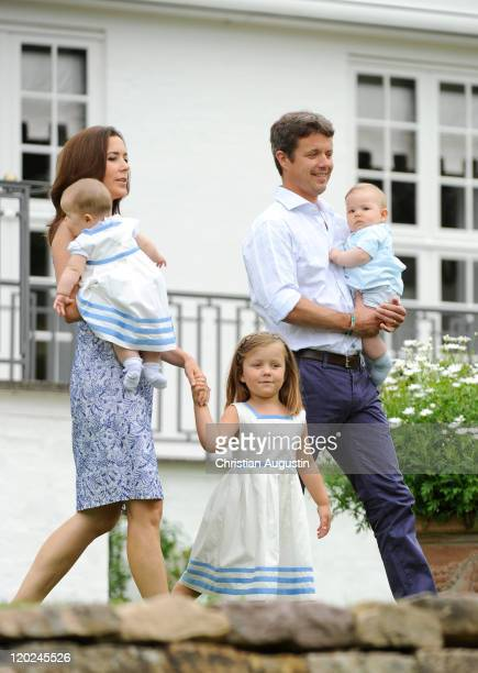Crown Prince Frederik and Crown Princess Mary Princess Isabella and the twins Vincent Frederik Minik Alexander and Josephine Sophia Ivalo Mathilda...