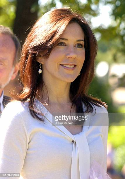 Crown Prince Frederik Crown Princess Mary Of Denmark Attend A Church Service At The Danish Church In Pennant Hills Near Sydney During Their 2Week...