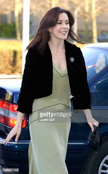Crown Prince Frederik Crown Princess Mary Of Denmark Attend A Concert At The Aarhus Music House To Celebrate The 75Th Anniversary Of The Aarhus...