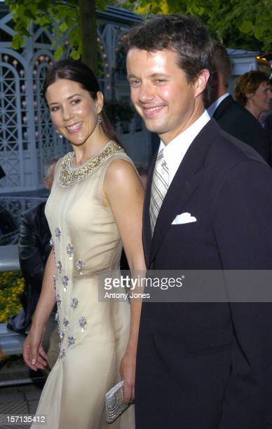 Crown Prince Frederik Crown Princess Mary Of Denmark Attend A Gala Concert At The Tivoli In Copenhagen As Part Of Prince Henrik'S 70Th Birthday...