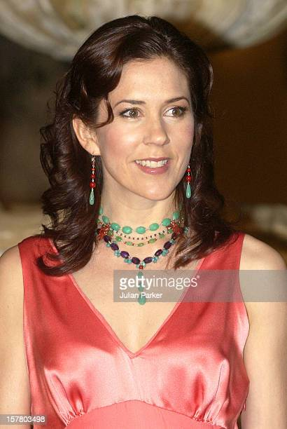 Crown Prince Frederik Crown Princess Mary Of Denmark Attend An Australian Cancer Council Dinner At The Boomerang During Their 2Week Visit To Australia