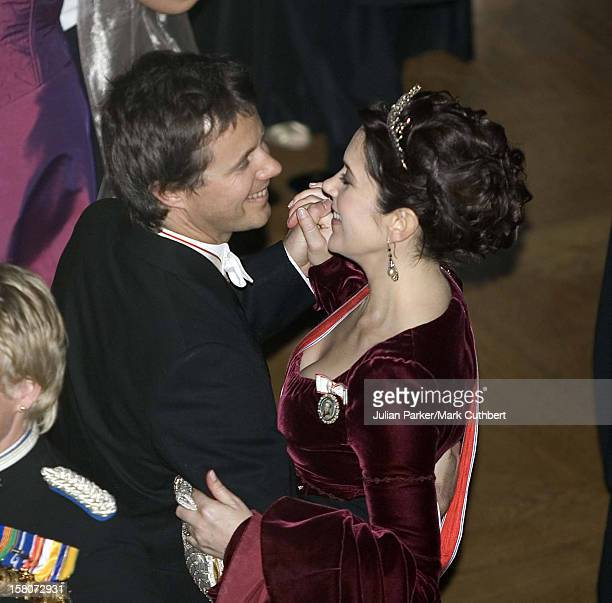 Crown Prince Frederik Crown Princess Mary Of Denmark Attend King Harald Of Norway'S 70Th Birthday Celebrations In OsloGala Dinner Dance At The Royal...