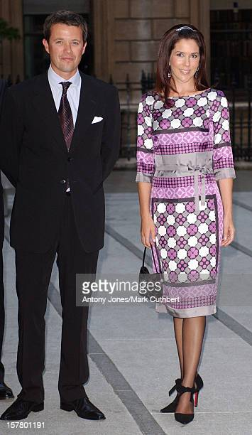 Crown Prince Frederik Crown Princess Mary Of Denmark Attend The Opening Reception Of Ancient Art To PostImpressionism At London'S Royal Academy Of...