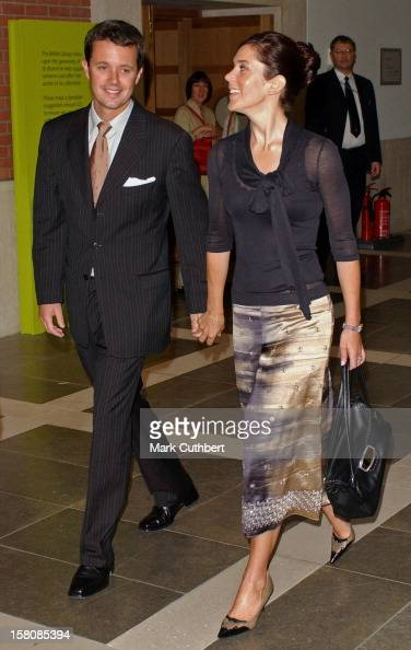Crown Prince Frederik Crown Princess Mary Of Denmark Attend The Launch Of Hans Christian Anderson 2005 At The British Library In London