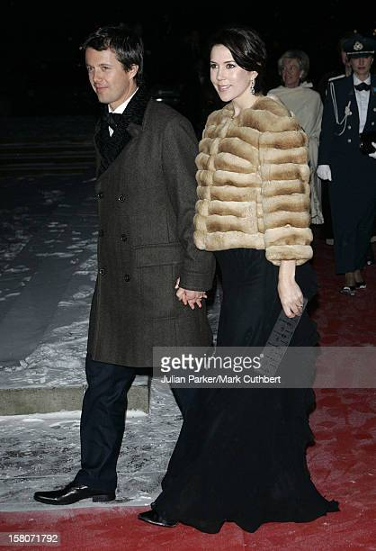 Crown Prince Frederik Crown Princess Mary Of Denmark Attends King Harald Of Norway'S 70Th Birthday Celebrations In OsloGala Concert At The City Hall...