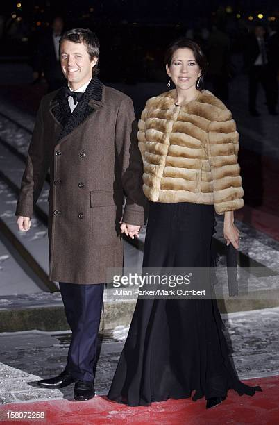 Crown Prince Frederik Crown Princess Mary Of Denmark Attends King Harald Of Norway'S 70Th Birthday Celebrations In OsloGala Concert At The City Hall