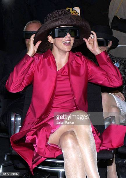 Crown Prince Frederik Crown Princess Mary Of Denmark Visit Aarhus And Watch A 3D Demonstration At The Alexandra Institute During A 4Day Trip On The...