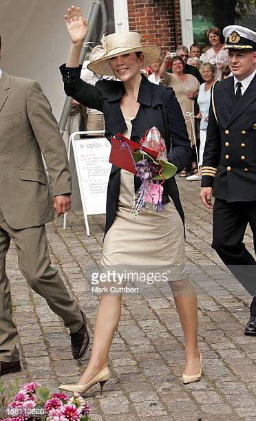 Crown Prince Frederik Crown Princess Mary Of Denmark Visit The Island Of BornholmVisit To Nexo