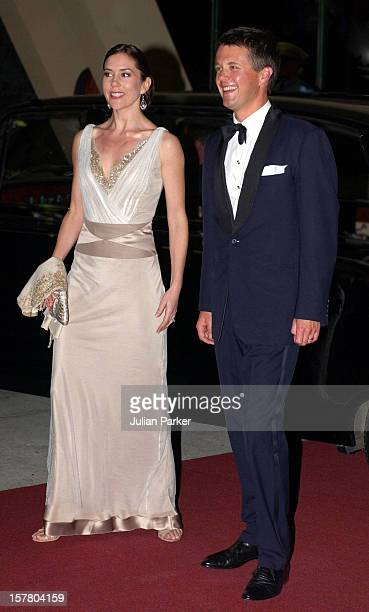 Crown Prince Frederik Crown Princess Mary Of Denmark Visit AustraliaSave The Children Chocolate Lovers Charity Ball At The Wrest Point Casino In...