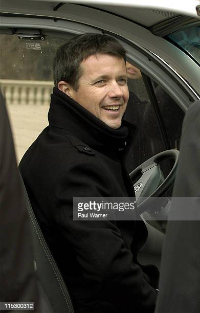 Crown Prince Frederik of Denmark attends the opening of the climate energy conference at Chicago Cultural Center on March 23 2009 in Chicago