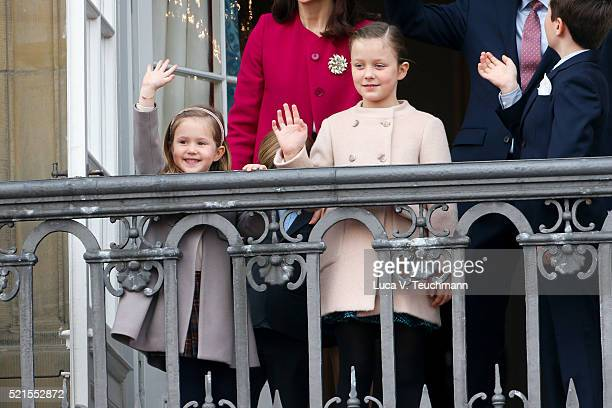 Crown Prince Frederik of Denmark Crown Princess Mary of Denmark Princess Josephine of Denmark Princess Isabella of Denmark Prince Vincent of Denmark...