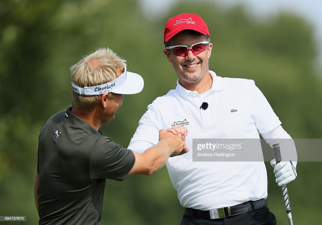 crown-prince-frederik-of-denmark-is-congratulated-by-his-playing-picture-id594737670