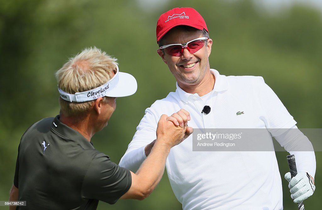 crown-prince-frederik-of-denmark-is-congratulated-by-his-playing-picture-id594738242