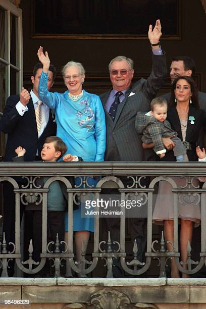 Crown Prince Frederik of Denmark Prince Christian of Denmark Queen Margrethe of Denmark Henrik The Prince Consort of Denmark Prince Henrik of Denmark...