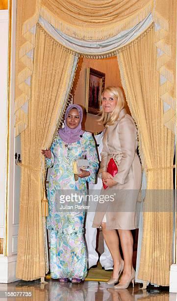 Crown Prince Haakon And Crown Princess Mette Marit Of Norway At Istana Negara Kuala Lumpur