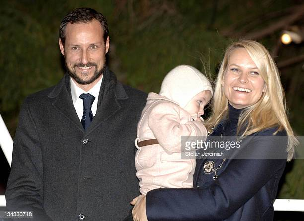 Crown Prince Haakon and Crown Princess MetteMarit of Norway and family