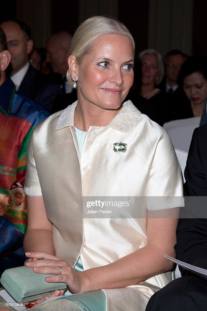 Crown Prince Haakon of Norway (not pictured) and Crown Princess Mette-Marit of Norway attend a concert, and Seafood buffet dinner, at The Shangri-La Hotel, Jakarta during an official 3-day visit to Indonesia, on November 27, 2012 in Jakarta, Indonesia. The visit intends to strengthen and develop the existing relationship between the countries, especially in relation to the energy, maritime, trade and investment sectors.