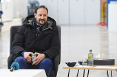 Crown Prince Haakon of Norway Visits Oslo Public...