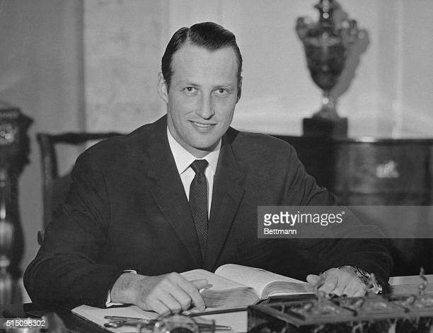 Crown Prince Harald later Harald V King of Norway at 30 years old