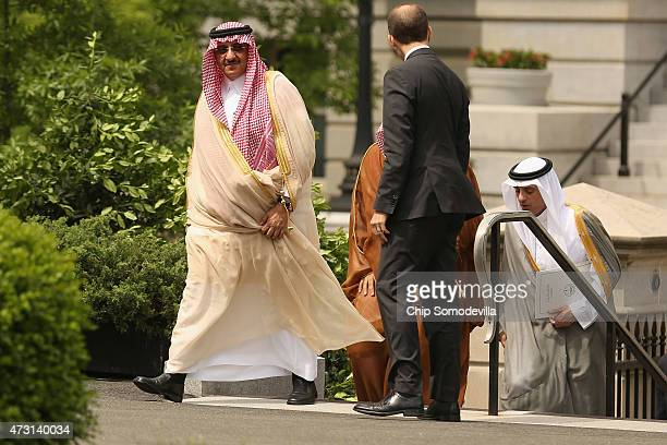 Crown Prince Mohammed bin Nayef Deputy Crown Prince Mohammed bin Salman of Saudi Arabia and Saudi Minister of Foreign Affairs Adel AlJubeir are...
