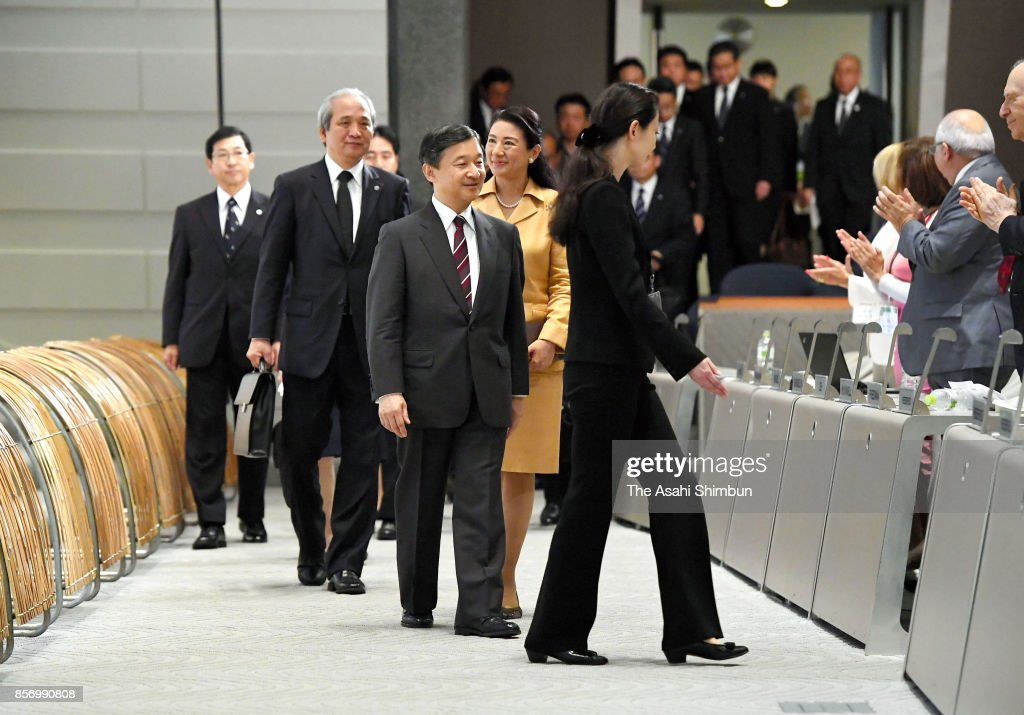 Crown Prince And Princess Attend STS Forum