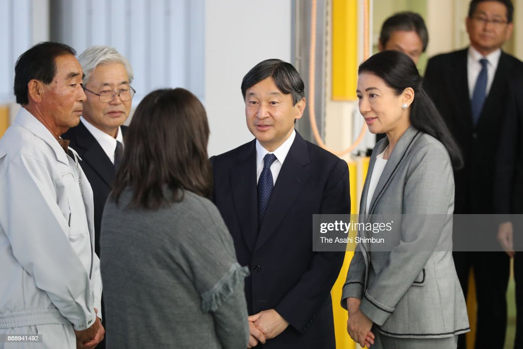 CASA IMPERIAL DE JAPÓN - Página 4 Crown-prince-naruhito-and-crown-princess-masako-visit-a-strawberry-picture-id868941492