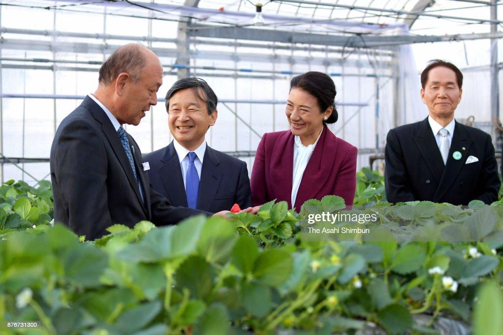 Crown Prince And Princess Visit Kagawa - Day 2