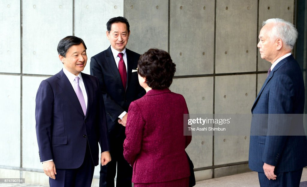 Crown Prince Naruhito Attends Science Centre World Summit Opening Ceremony