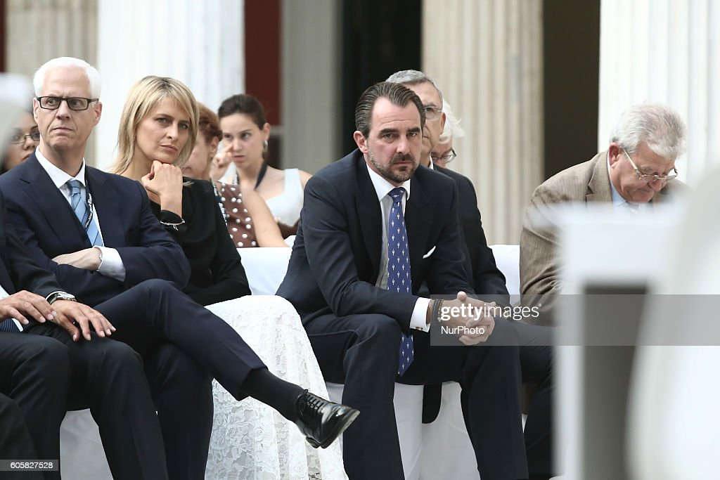 crown-prince-of-greece-pavlos-and-his-wife-mariechantal-miller-attend-picture-id605827528