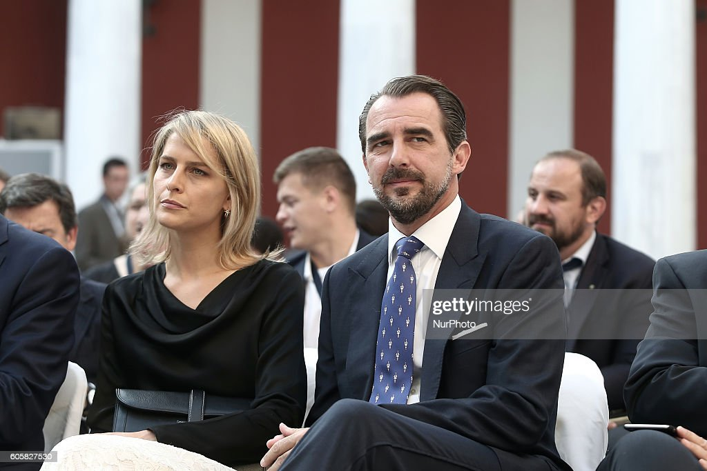 crown-prince-of-greece-pavlos-and-his-wife-mariechantal-miller-attend-picture-id605827530