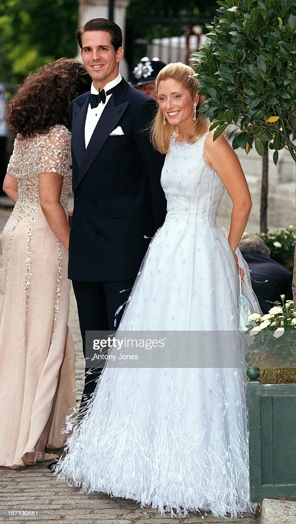Crown Prince Pavlos Princess Marie Chantal Of Greece Attend A Gala At Bridgewater House