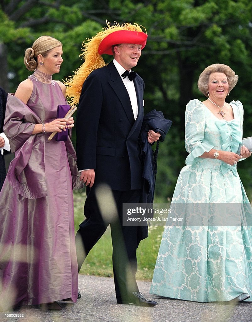 Queen beatrix of the netherlands expected to announce for Julian alexander wedding dresses