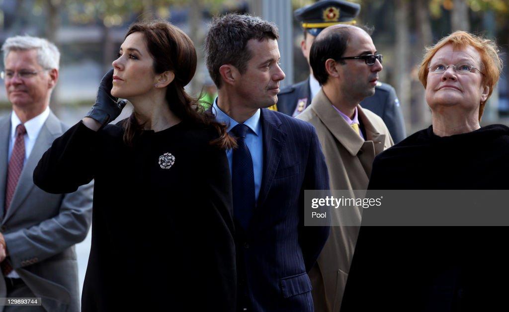 Nordic Heads of State Visit September 11 Memorial