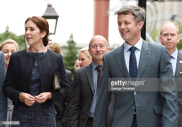 Crown Princess Mary and Crown Prince Frederik of Denmark attend official visit to Canada Day 2 on September 18 2014 in Toronto Canada