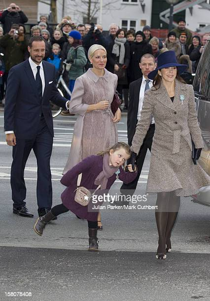 ** ** Crown Princess Mary And Princess Isabella Of Denmark And Crown Prince Haakon And Crown Princess MetteMarit Of Norway Attend A Celebratory...
