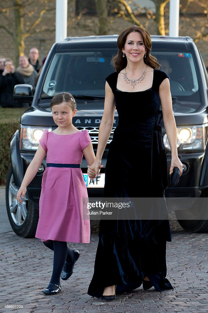 Crown Princess Mary, and Princess Isabella of Denmark, attend a Gala Night to mark the forthcoming 75th Birthday of Queen Margrethe II of Denmark at Aarhus Concert Hall on April 8, 2015 in Aarhus, Denmark.