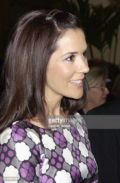 Crown Princess Mary attends a private view and reception for new show 'Ancient Art To PostImpressionism' at the Royal Academy of Arts on September 14...