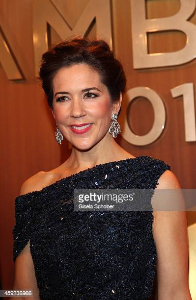 Crown Princess Mary of Denmark arrives at the Bambi Awards 2014 on November 13 2014 in Berlin Germany