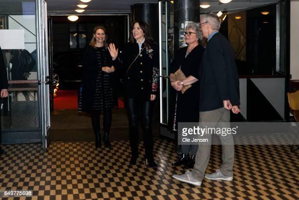 Crown Princess Mary of Denmark arrives at The International Women's Day celebration at Vega on March 8 2017 in Copenhagen Denmark