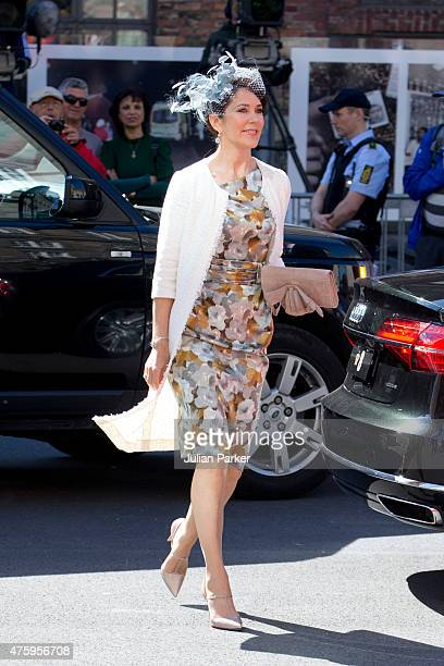 Crown Princess Mary of Denmark at Christiansborg Palace on the occasion of The 100th Anniversary of The 1915 Danish Constitution on June 5th 2015 in...