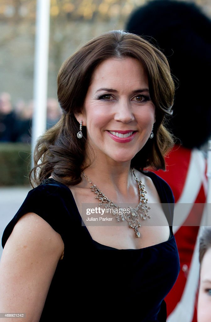 <a gi-track='captionPersonalityLinkClicked' href=/galleries/search?phrase=Crown+Princess+Mary+of+Denmark&family=editorial&specificpeople=158374 ng-click='$event.stopPropagation()'>Crown Princess Mary of Denmark</a> attends a Gala Night to mark the forthcoming 75th Birthday of Queen Margrethe II of Denmark at Aarhus Concert Hall on April 8, 2015 in Aarhus, Denmark.