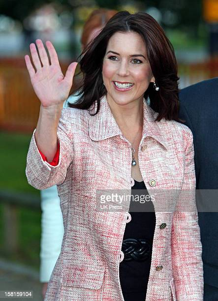 Crown Princess Mary Of Denmark Attends A Gala Performance Of Circus Benneweis In Copenhagen Denmark