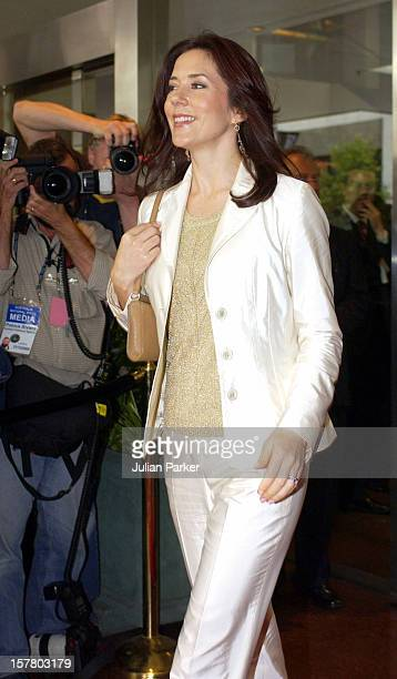 Crown Princess Mary Of Denmark Attends A Mental Health Foundation Of Australia Luncheon At The Four Seasons Hotel In Sydney During Her 2Week Visit To...