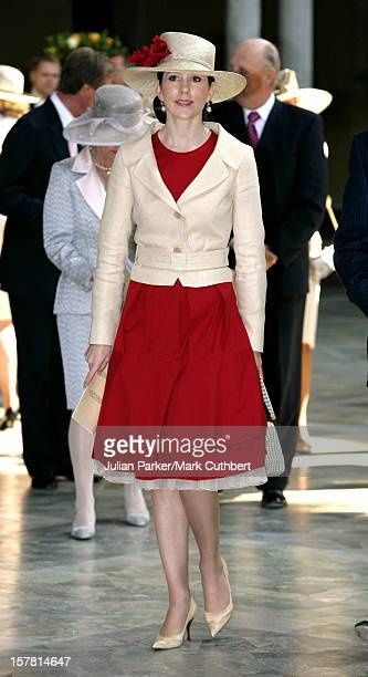 Crown Princess Mary Of Denmark Attends King Carl Gustaf Of Sweden'S 60Th Birthday CelebrationsThe Parliaments Lunch At City Hall Stockholm