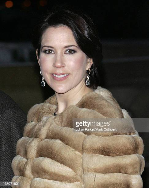Crown Princess Mary Of Denmark Attends King Harald Of Norway'S 70Th Birthday Celebrations In OsloGala Concert At The City Hall In Oslo